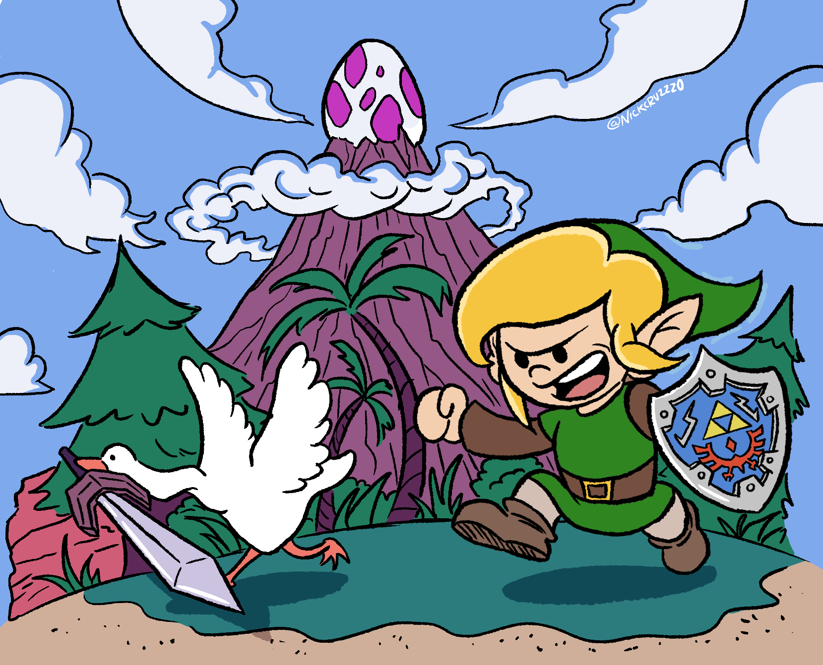 Link & the Goose