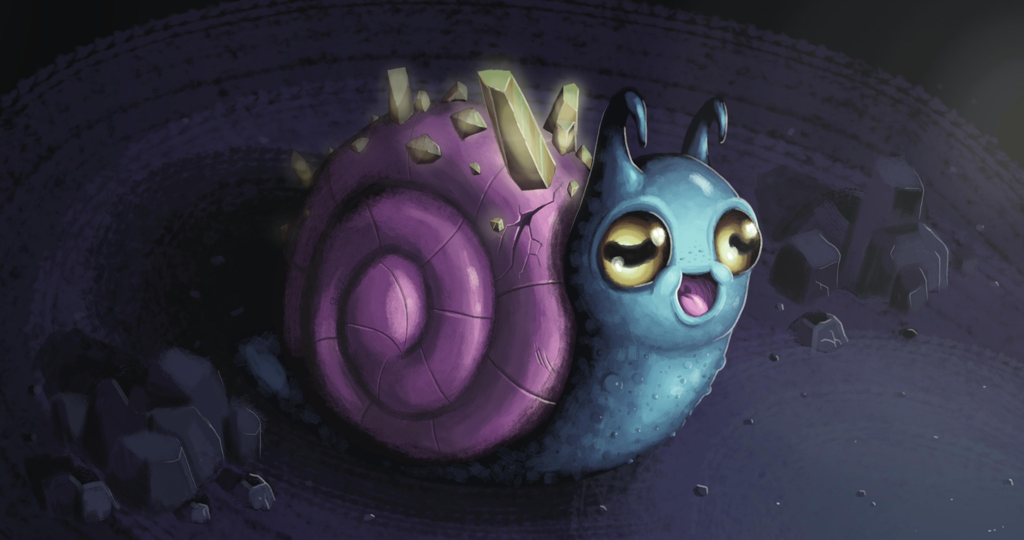 Cave Snail