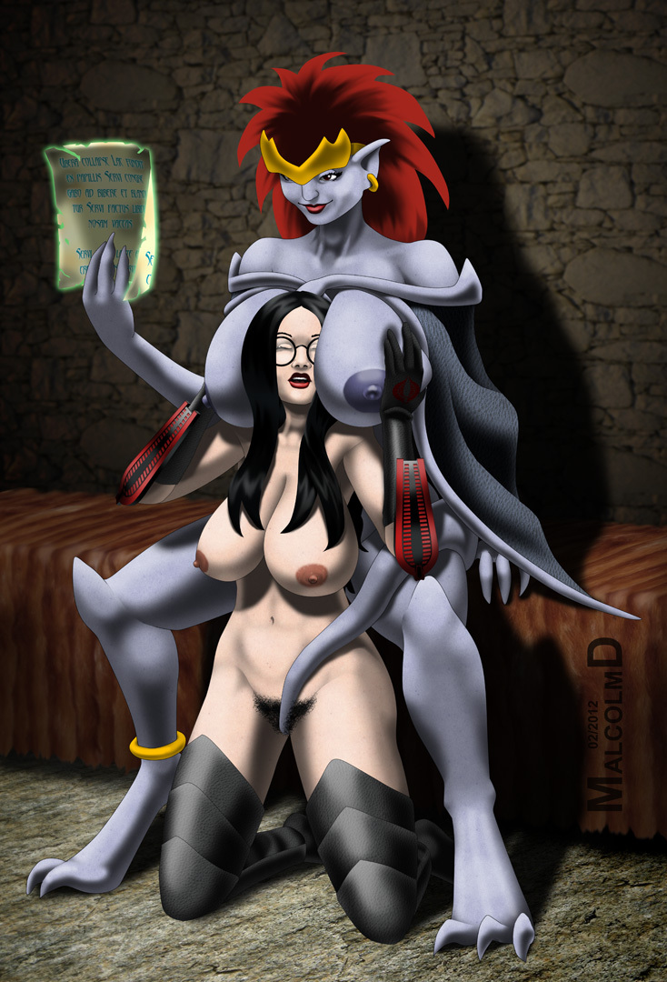 Baroness & Demona (commission)