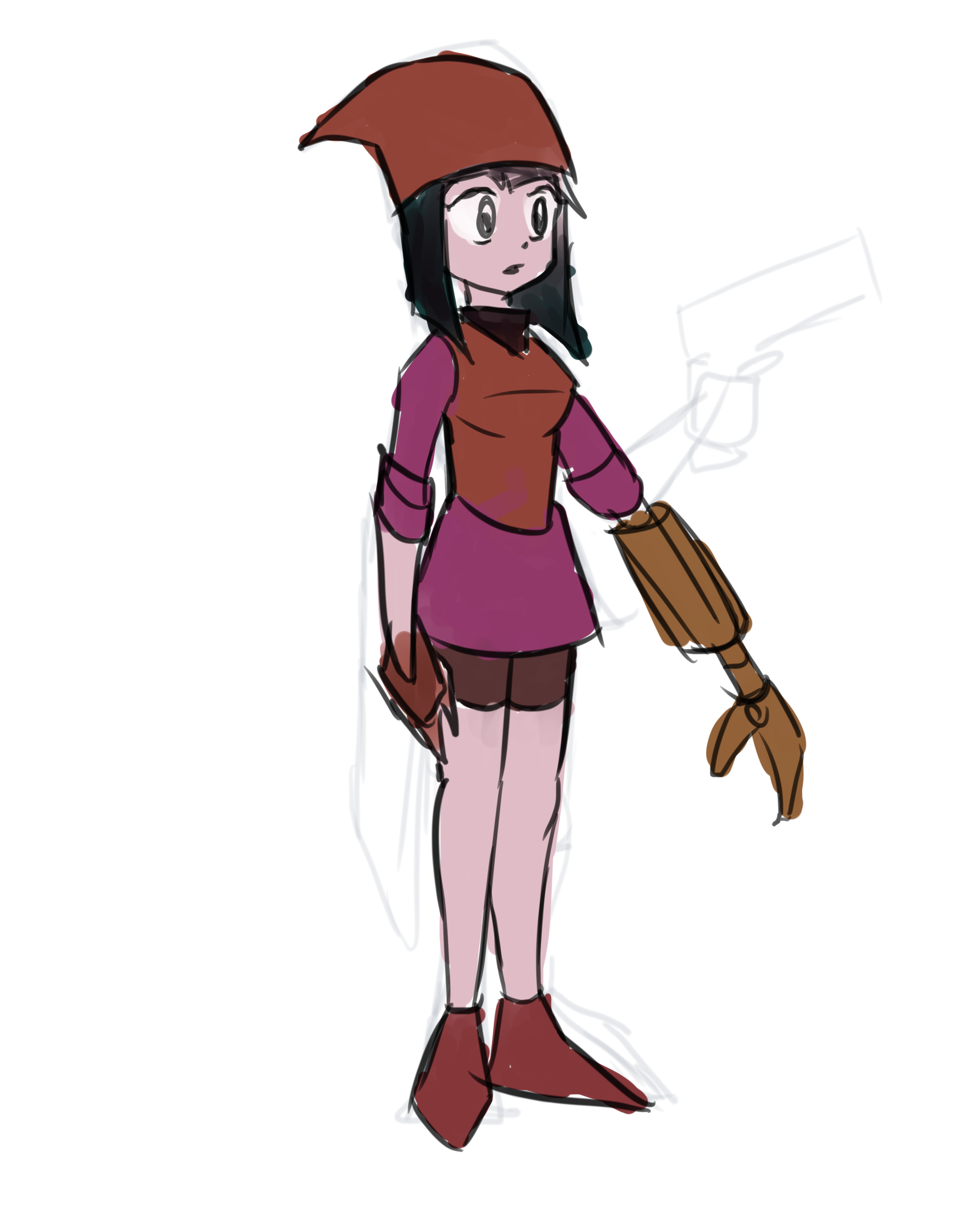 Rough Character Concept