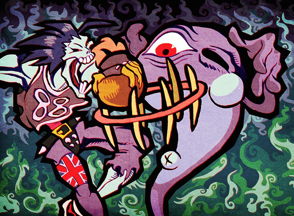 Halloween Dunk