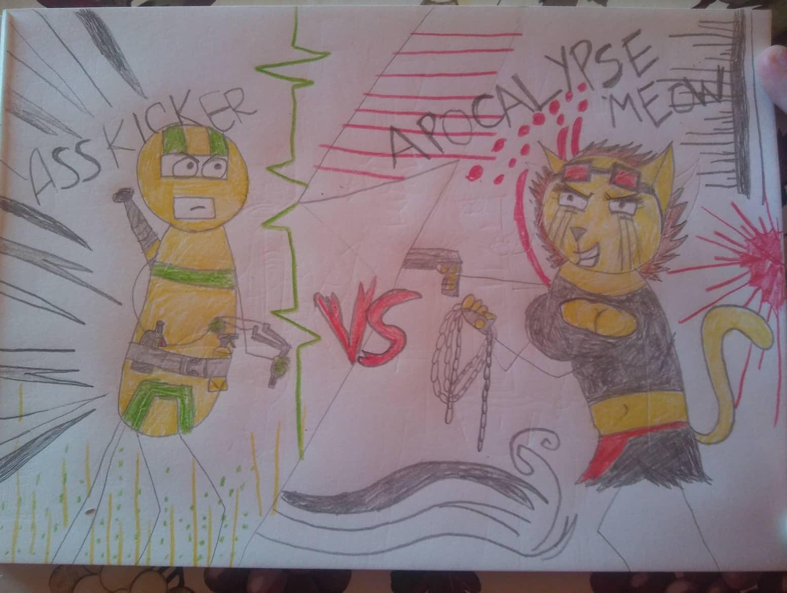 Ass Kicker VS Apocalypse Meow