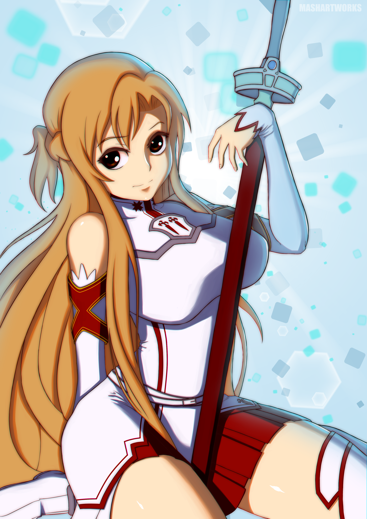 Sword Art Online - Asuna by MadRaccoon on Newgrounds