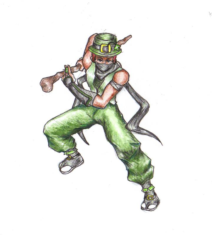 Leprechaun Ninja