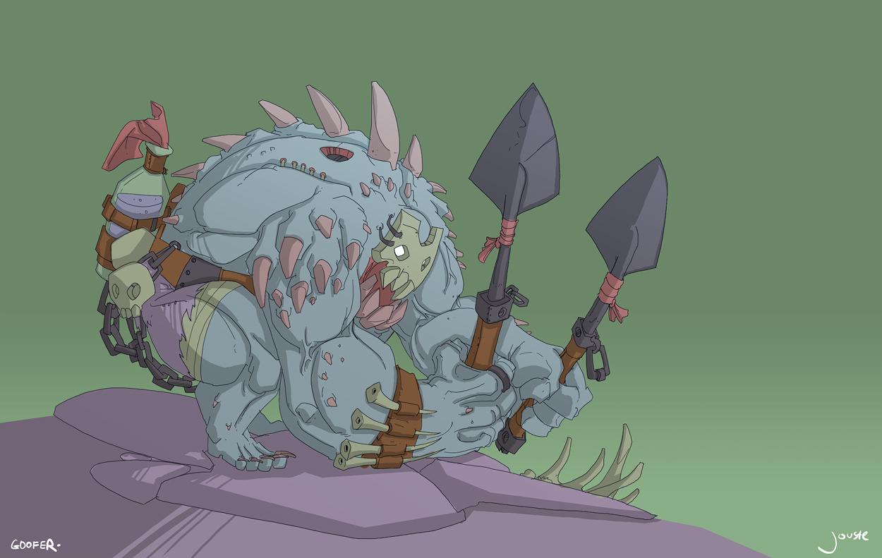 goofer the gravemonster!
