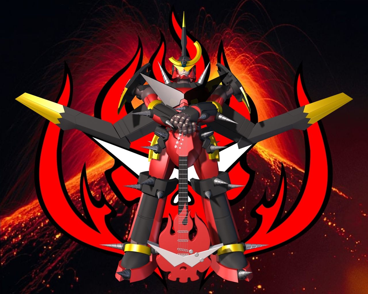 3D Gurren Lagann Wallpaper