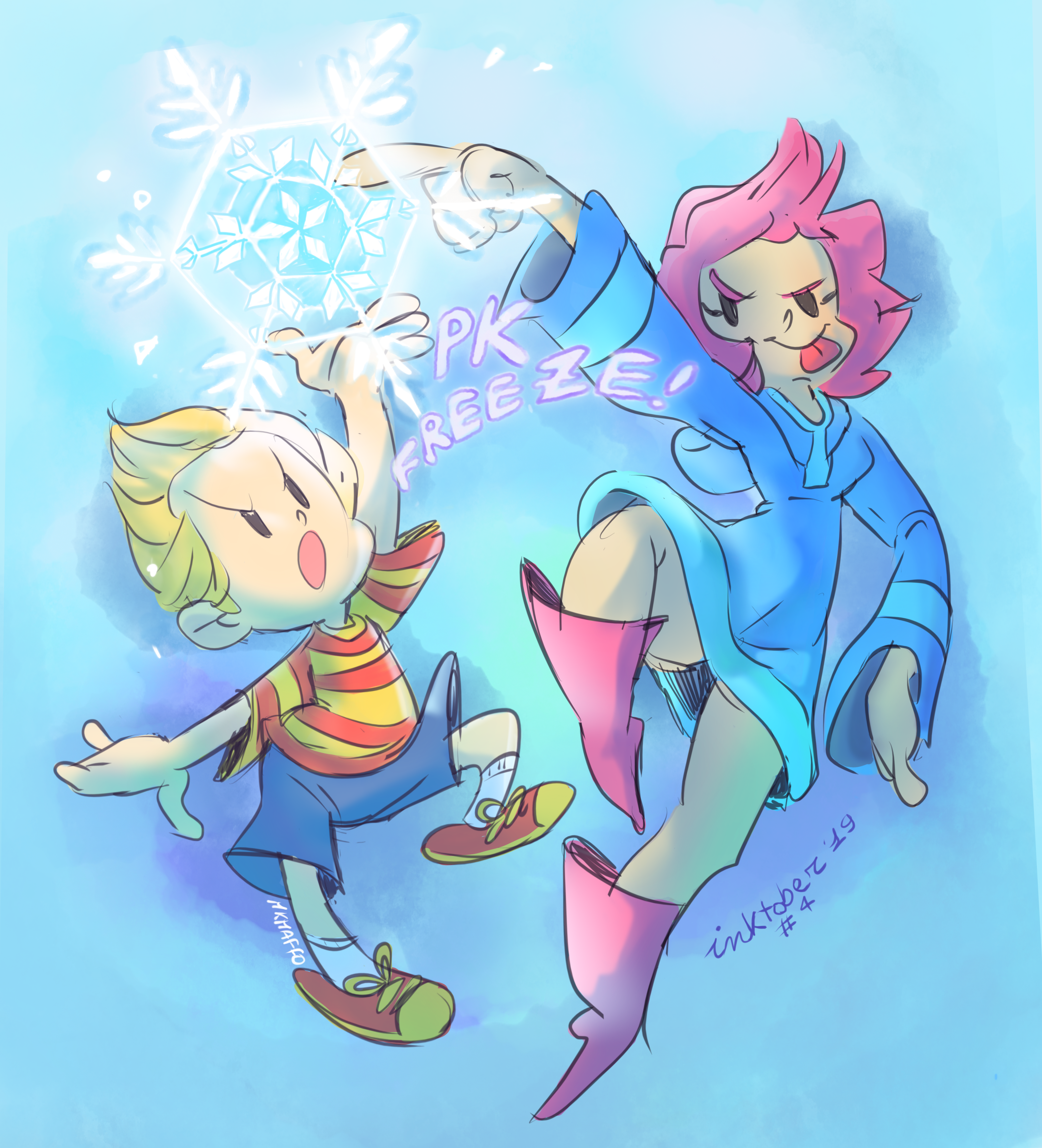 #4 Freeze - Inktober'19