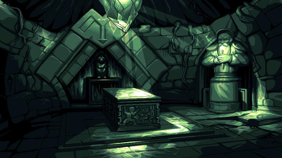 Aurelia Crypt Background