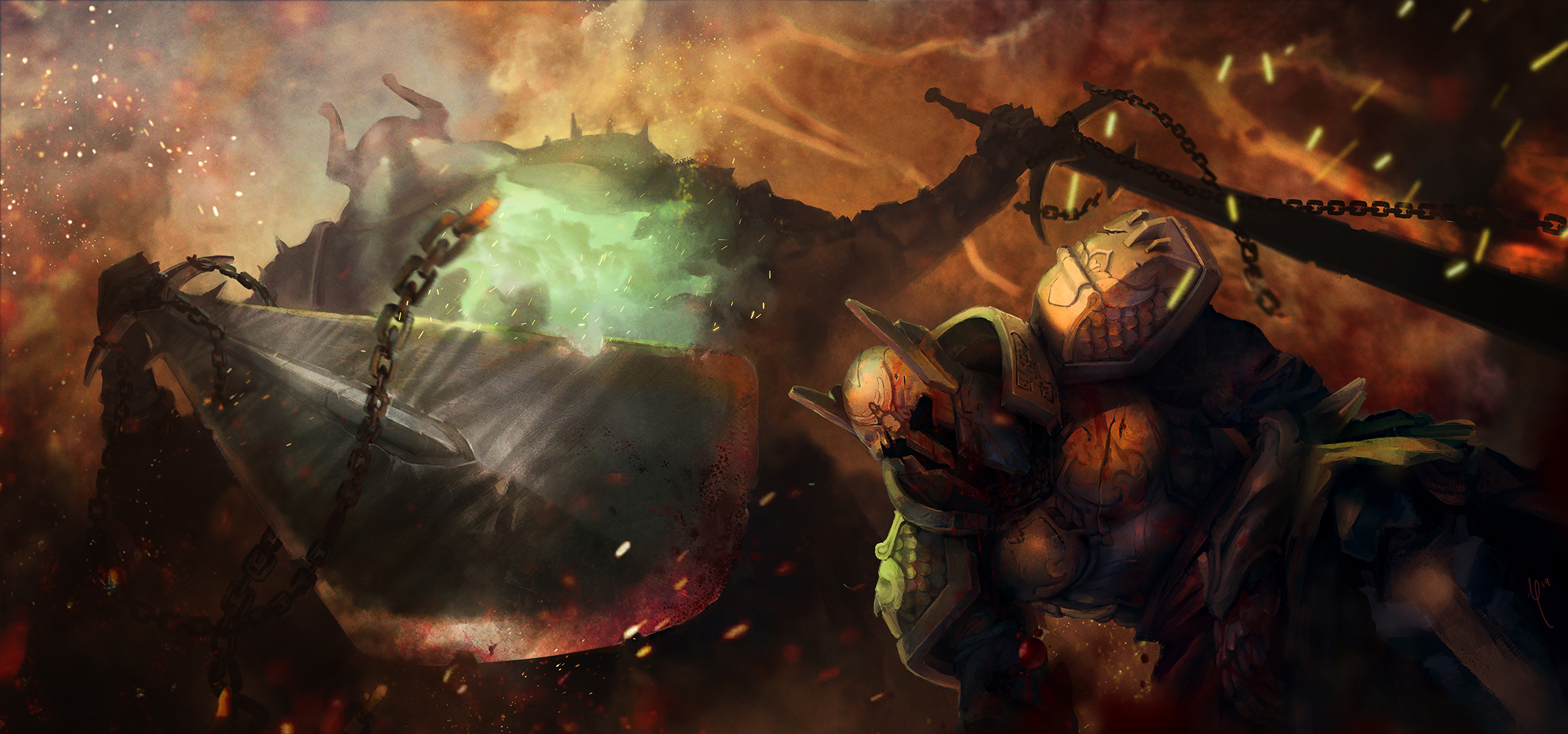 Crumbling World: Fallen Hero
