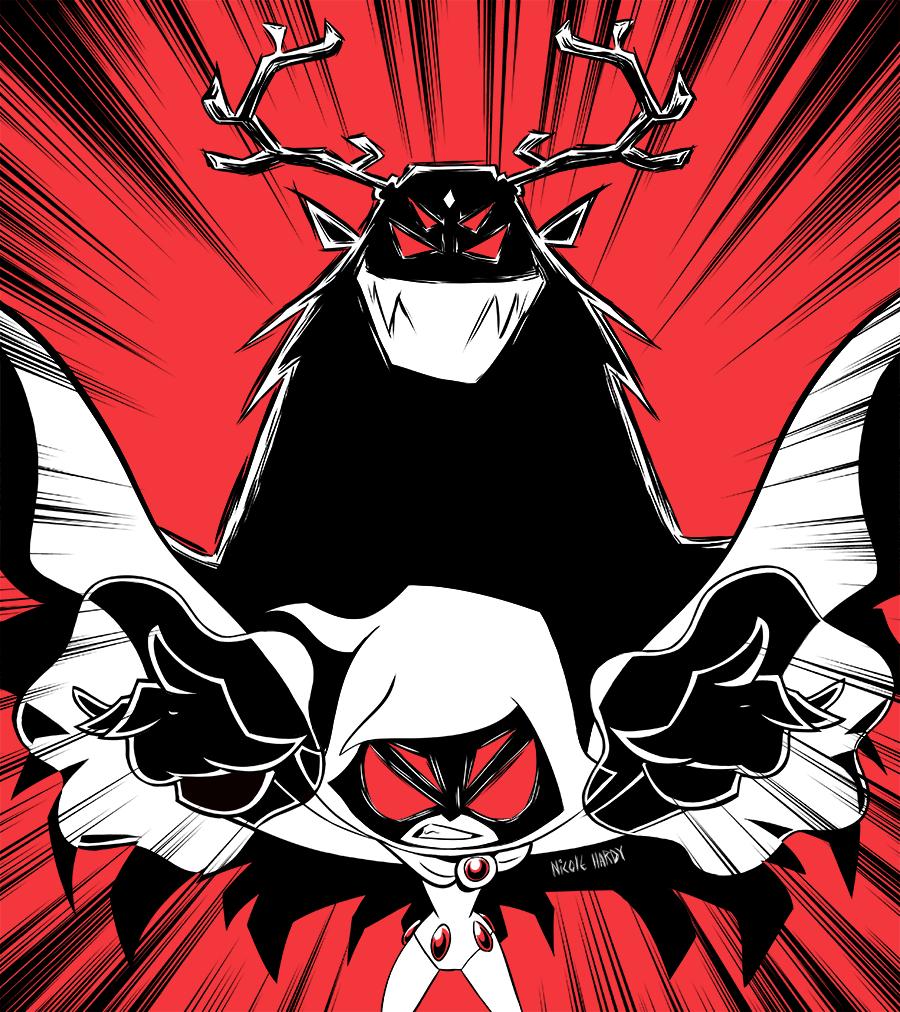 Raven and Trigon