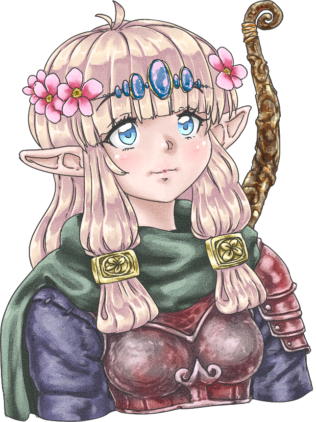 dungeons and dragons rouge archer elf
