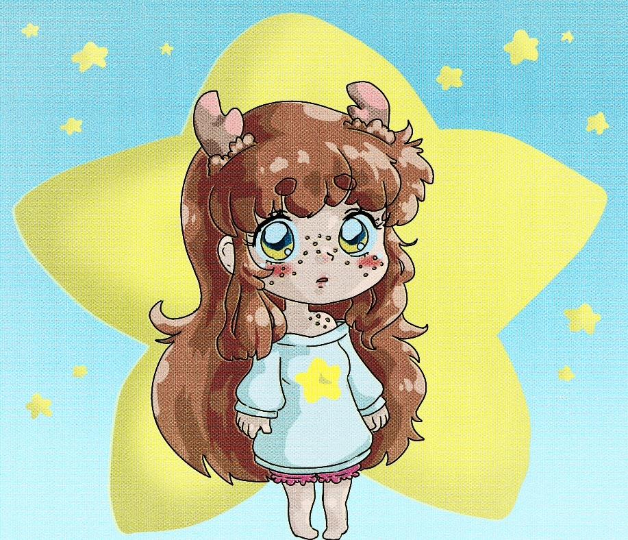 chibi 80's anime Miro