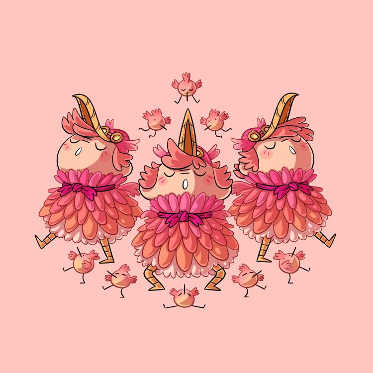 Witch Kindergarden - (4/16) - Wind Witch