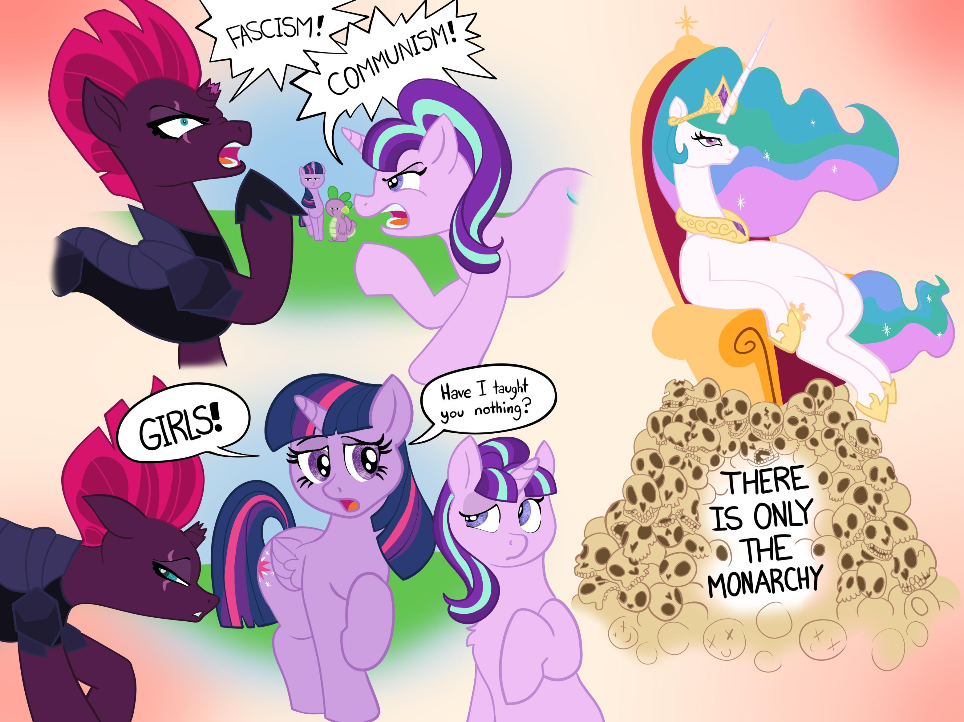 Equestrian Politics 101