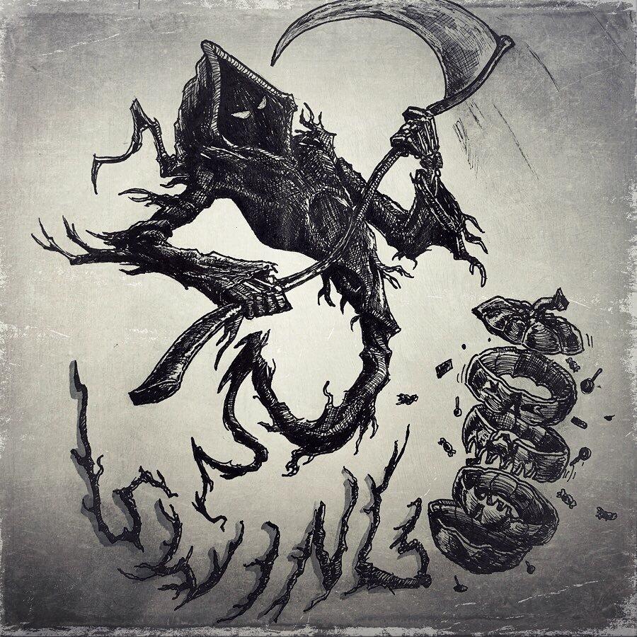 Inktober- Swing