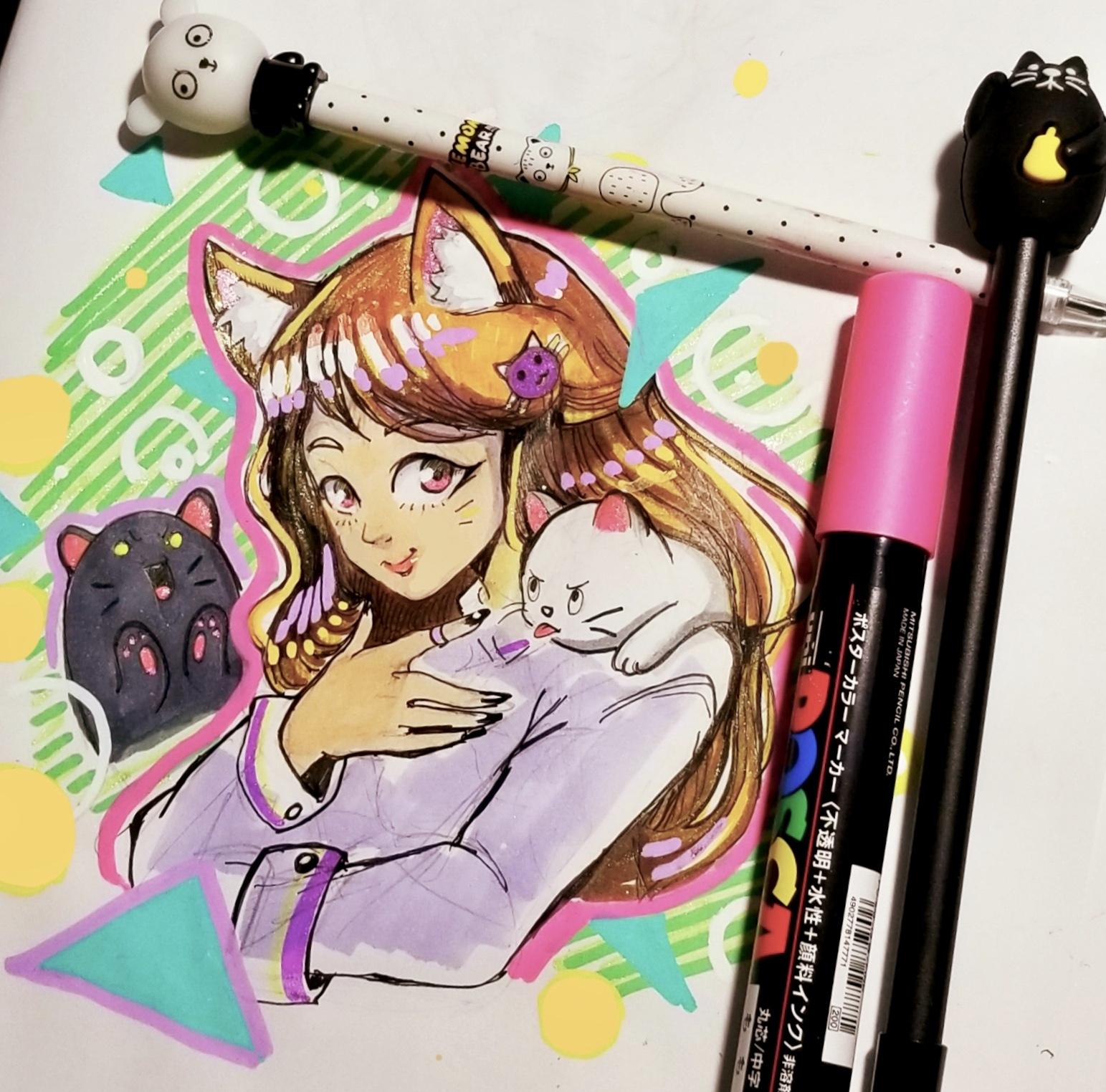 Cat Bear pens