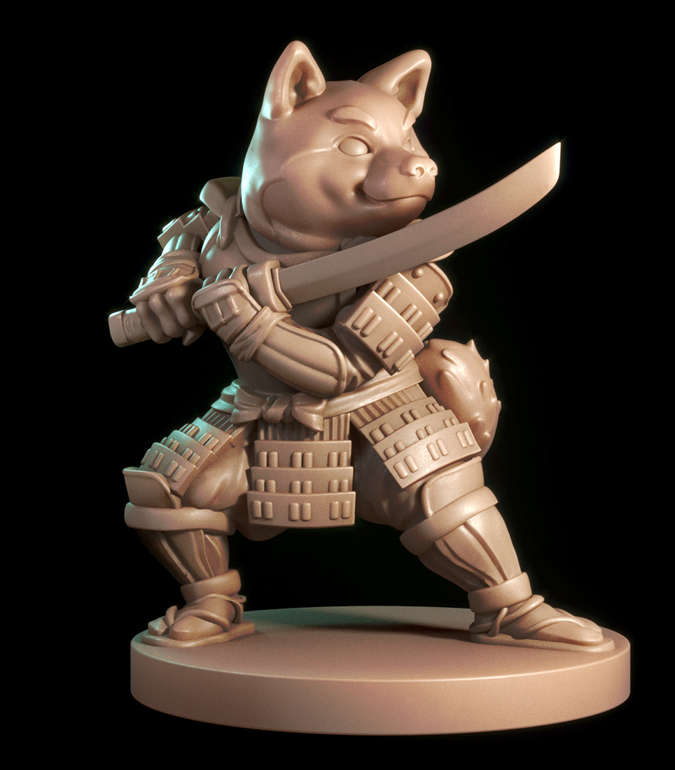 Samurai Shiba
