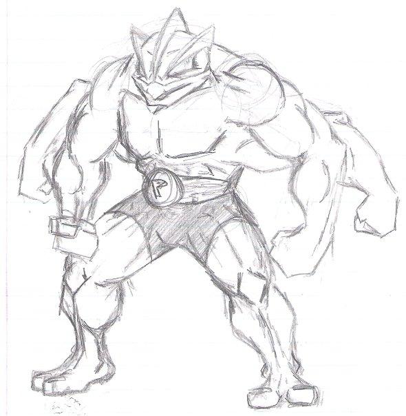 Machamp sketch