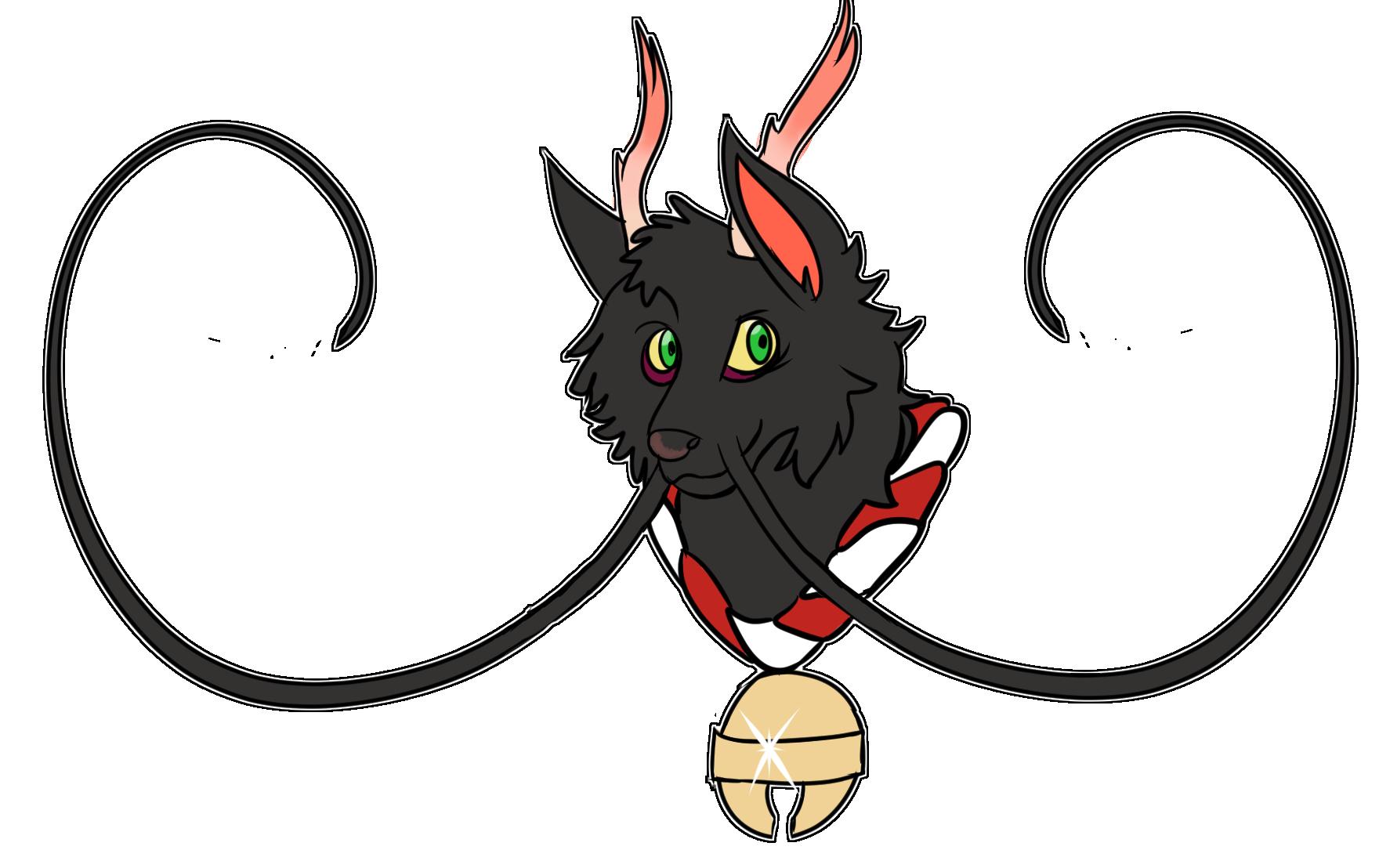 wolf dragon head