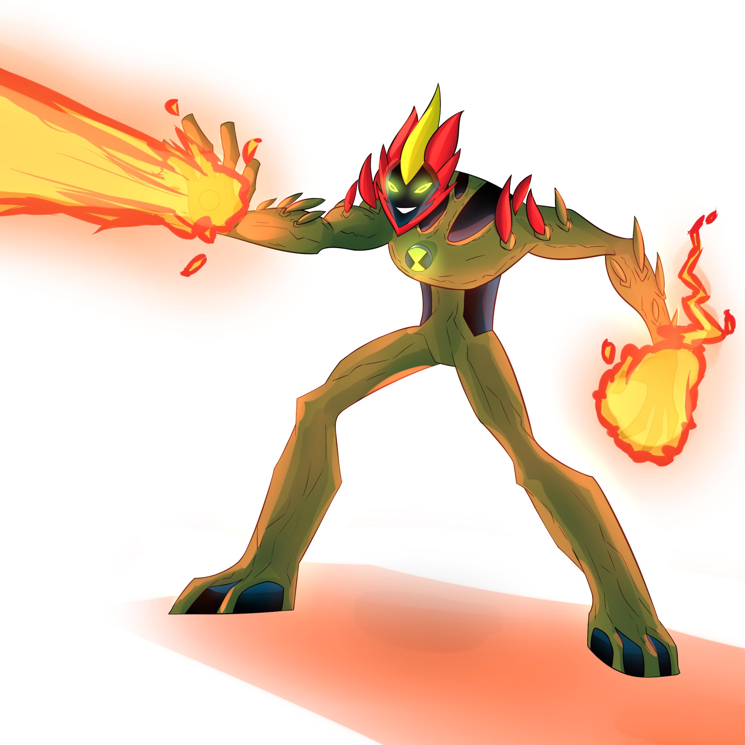 Ben10tober Day 11: Swampfire!