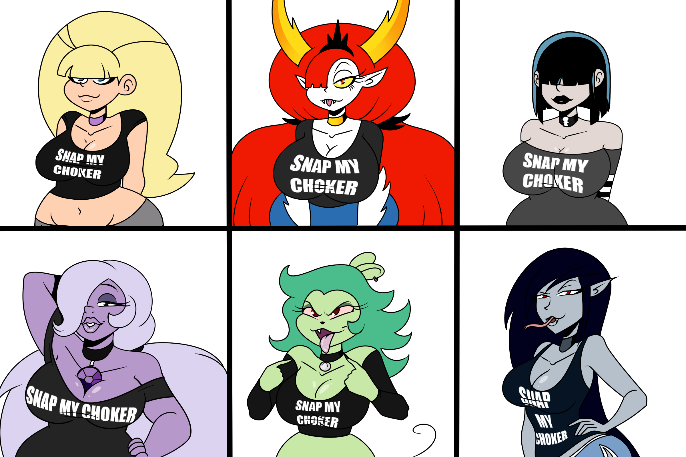 THICC-Verse: Snap my Choker by Chillguydraws on Newgrounds