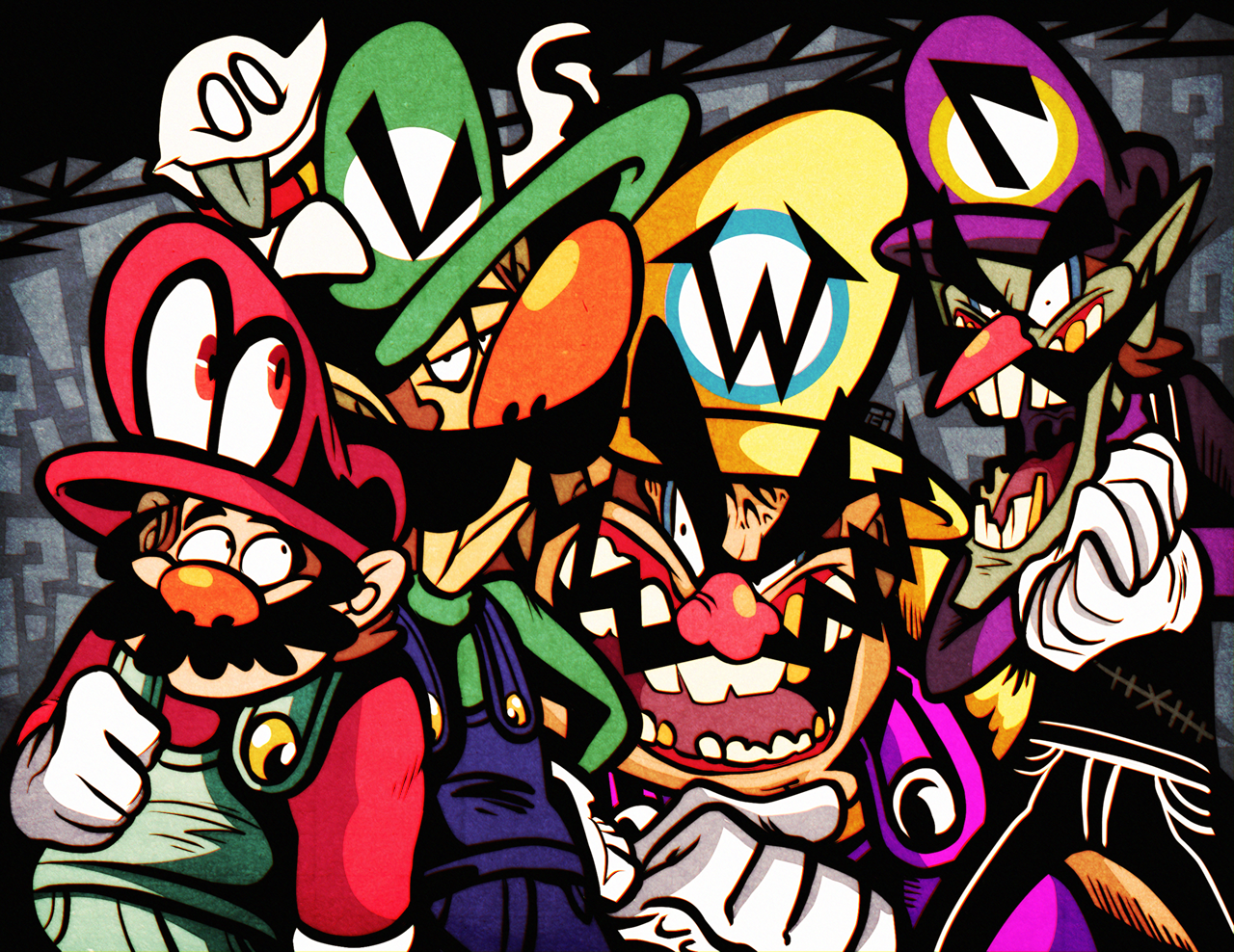 The Four Plumbers