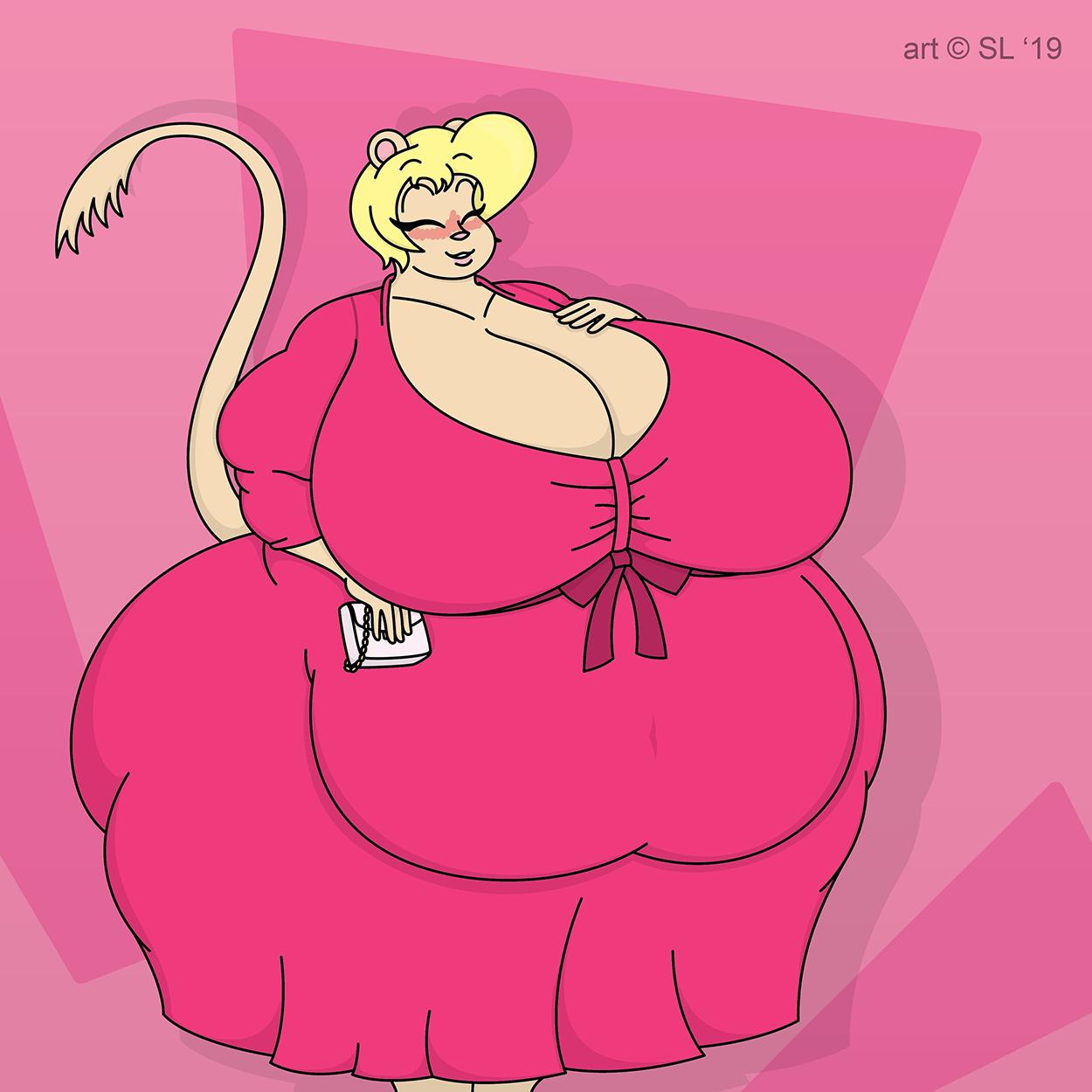Sandy's Good Dress