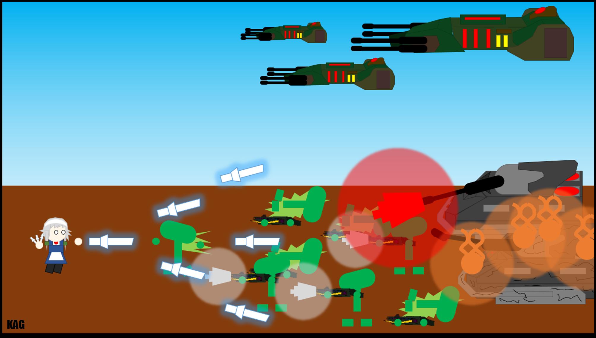 Sakuya Vs. The Ostroni (Touhou X Pivot Alien War)