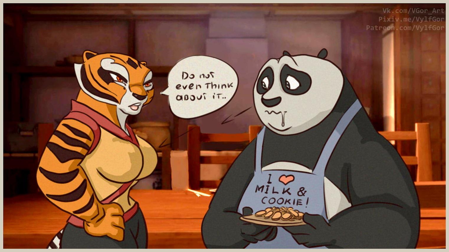 Po and TigressProposal by 11Po-Tigress-Love11