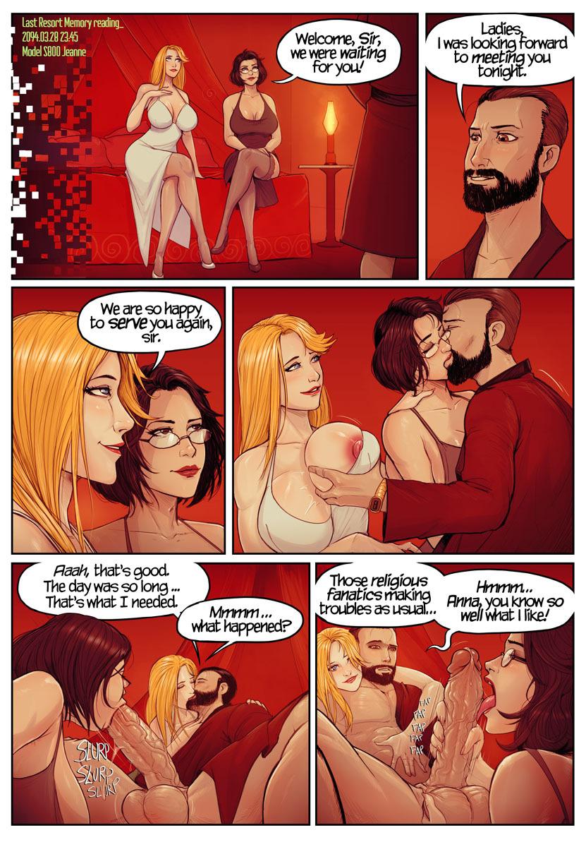 LAST RESORT ZERO comic