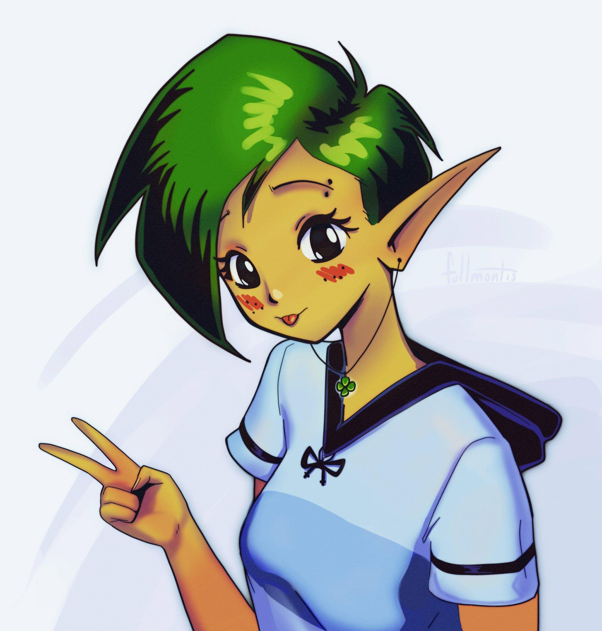 Tomboy Elf