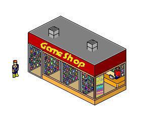 Pixel Game Shop