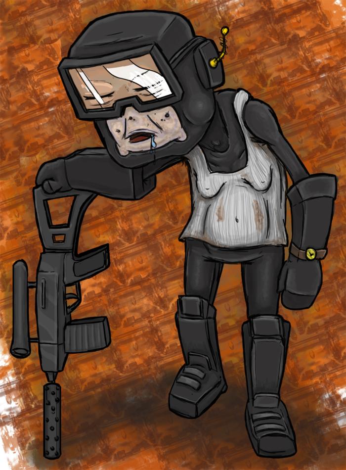 Old Tankman