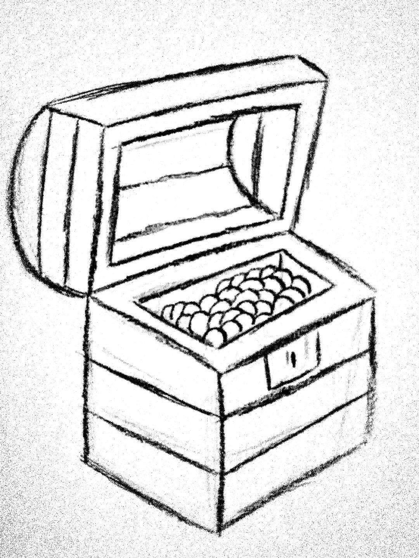 Inktober 21. Treasure