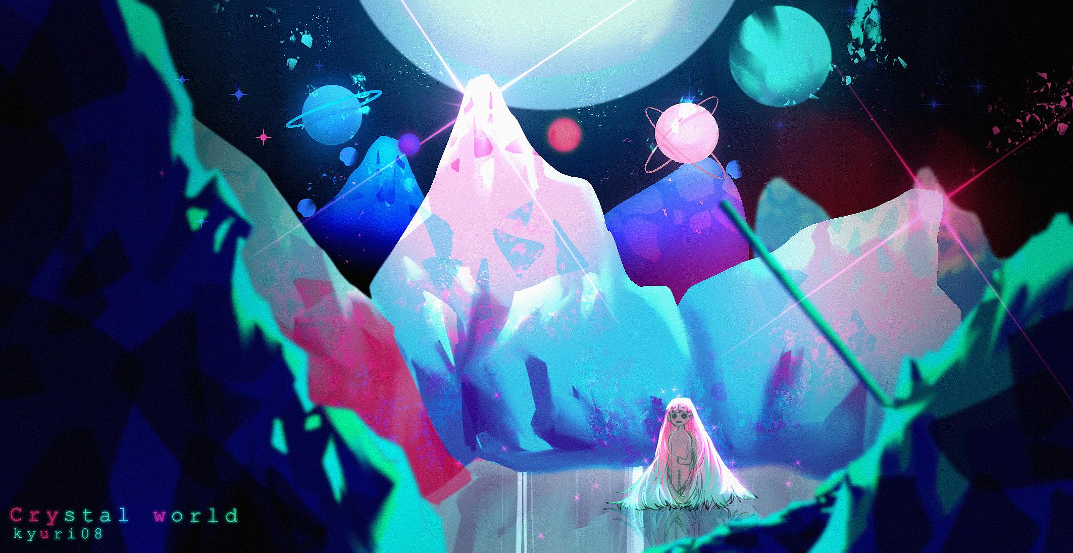 -crystal world-