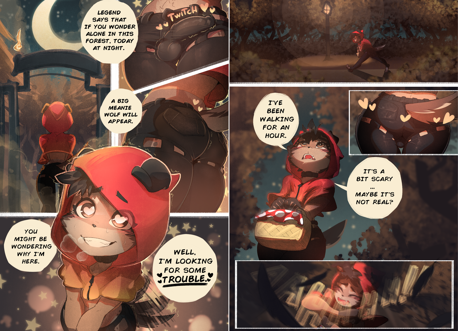 Little red riding hood Pg1-2