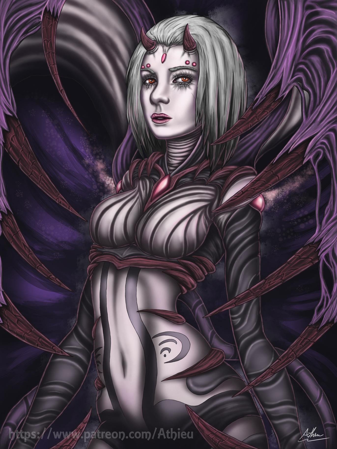 Halloween Monster Girl