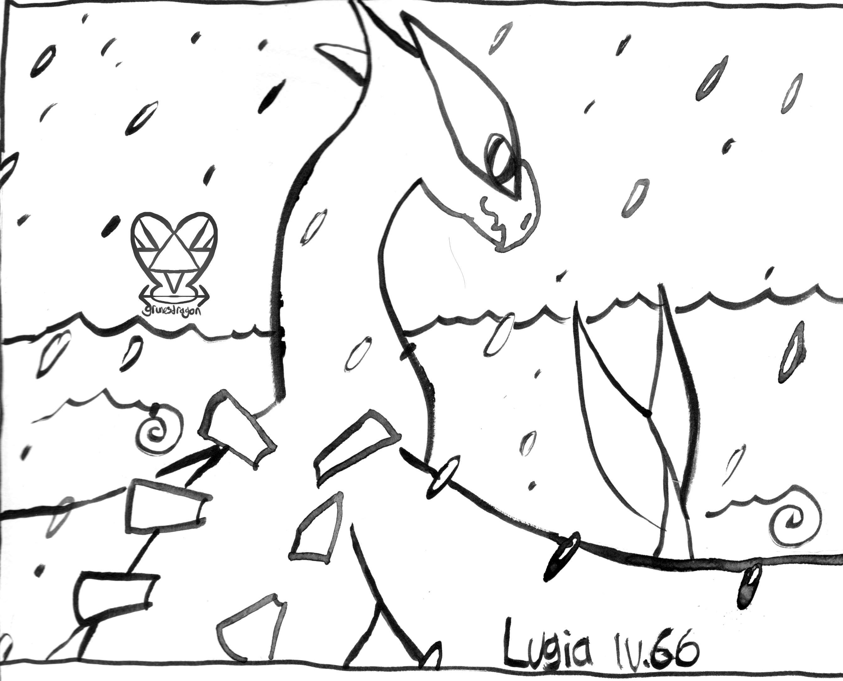 """28. """"Lugia turned back toward you and nodded in understanding!"""""""