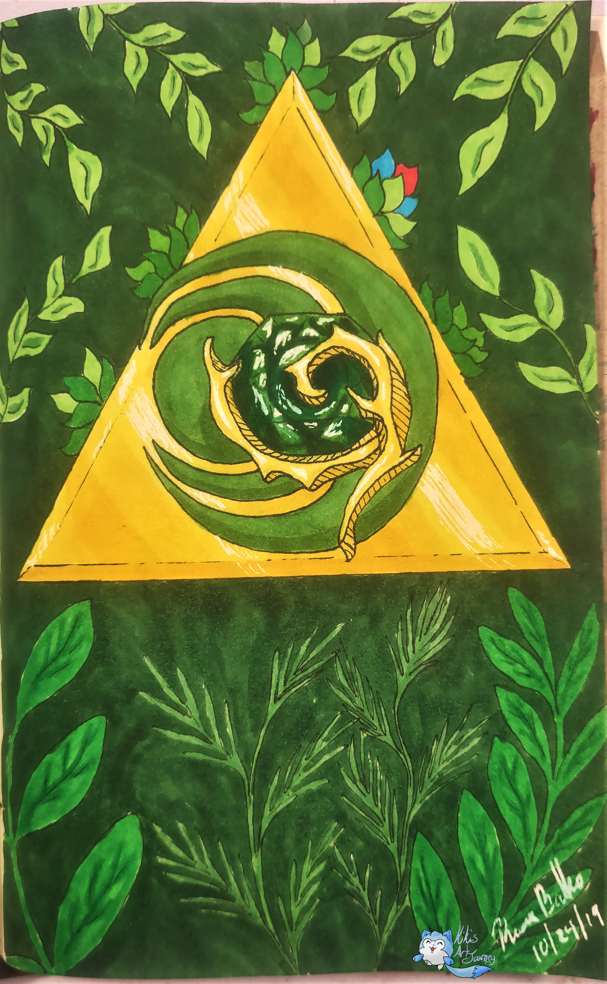 Linktober Day 28 Courage