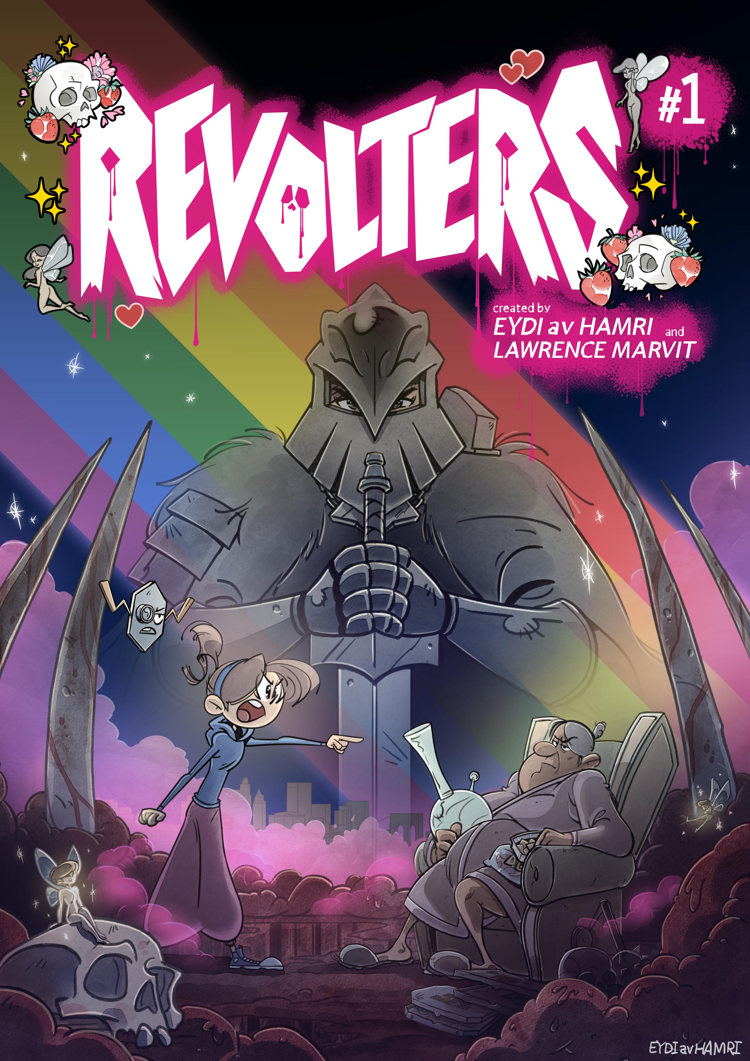 Revolters #1 (1-4 / 43)