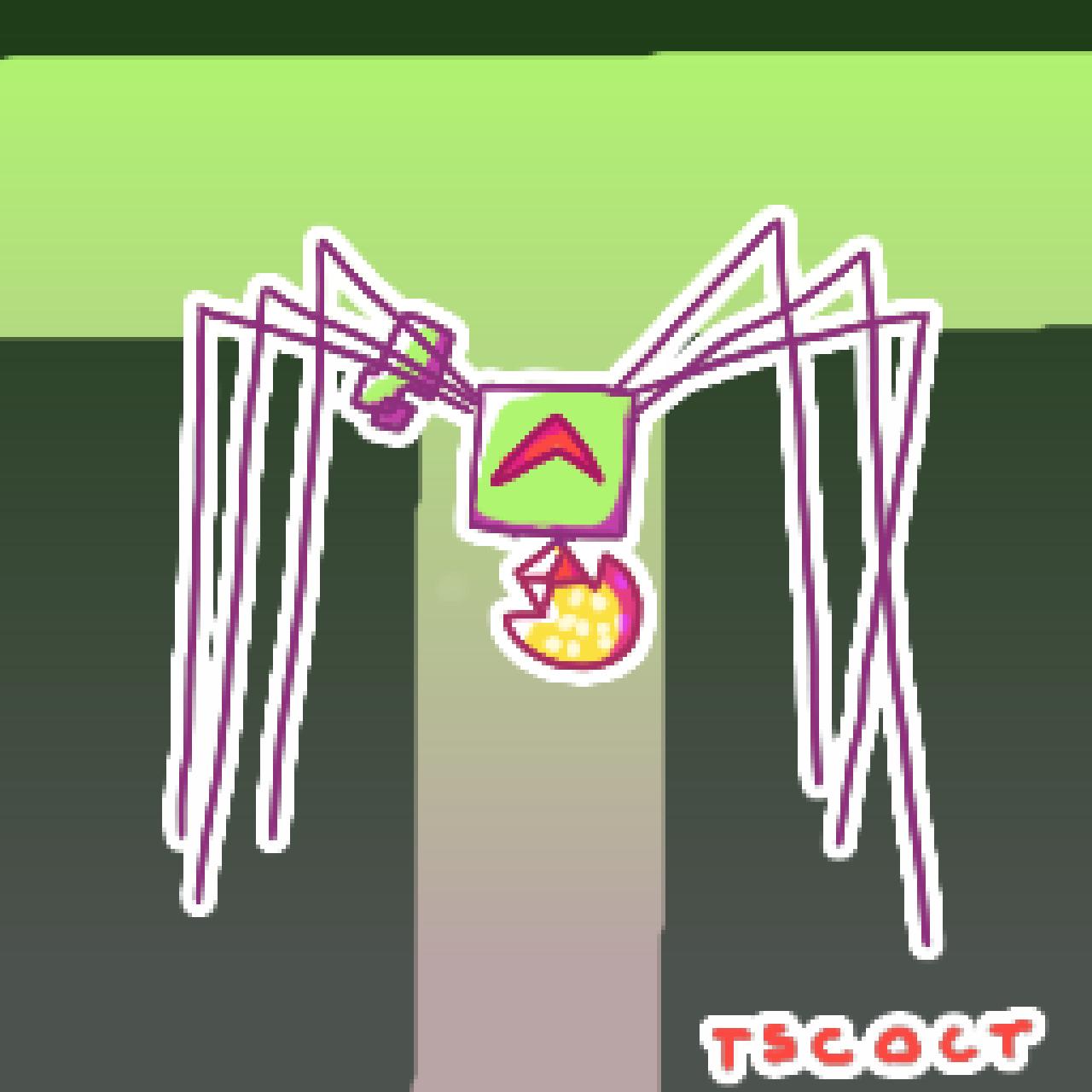 Creepy Mimi spider (Halloween edit)