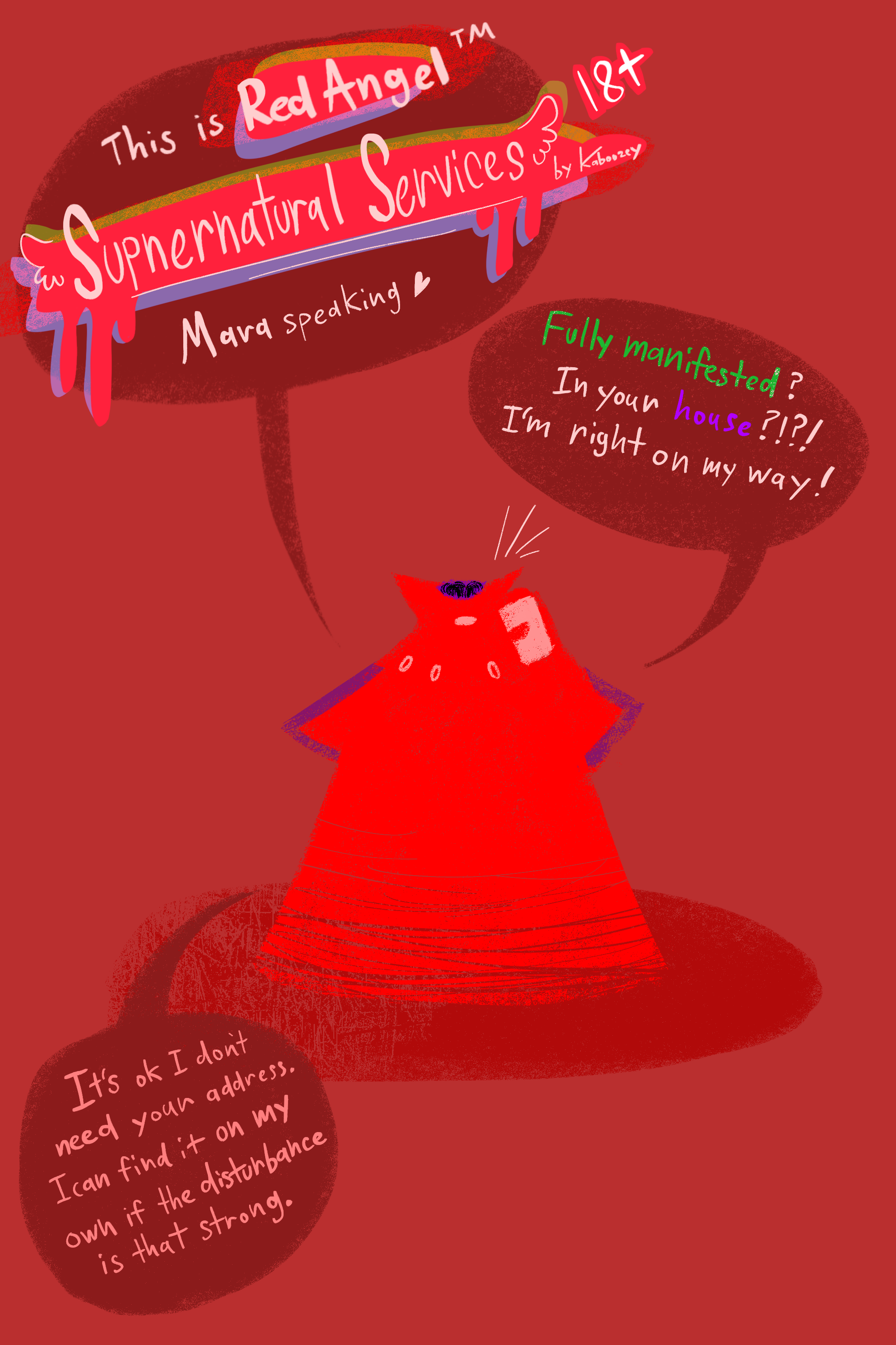 [Comic] Red Angel Supernatural Services (1/6)
