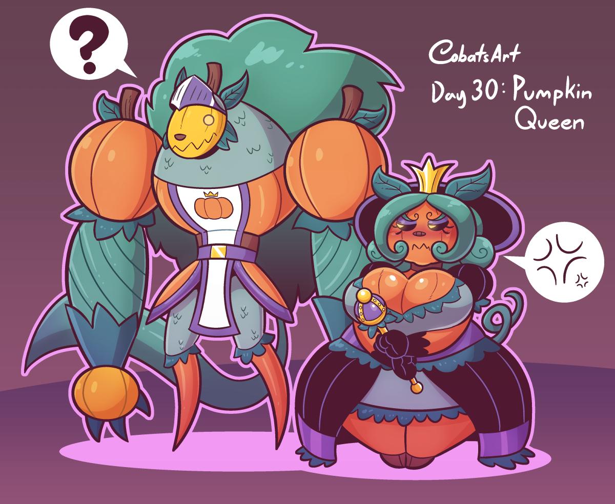 Cubesonaween Day 30: Pumpkin Queen