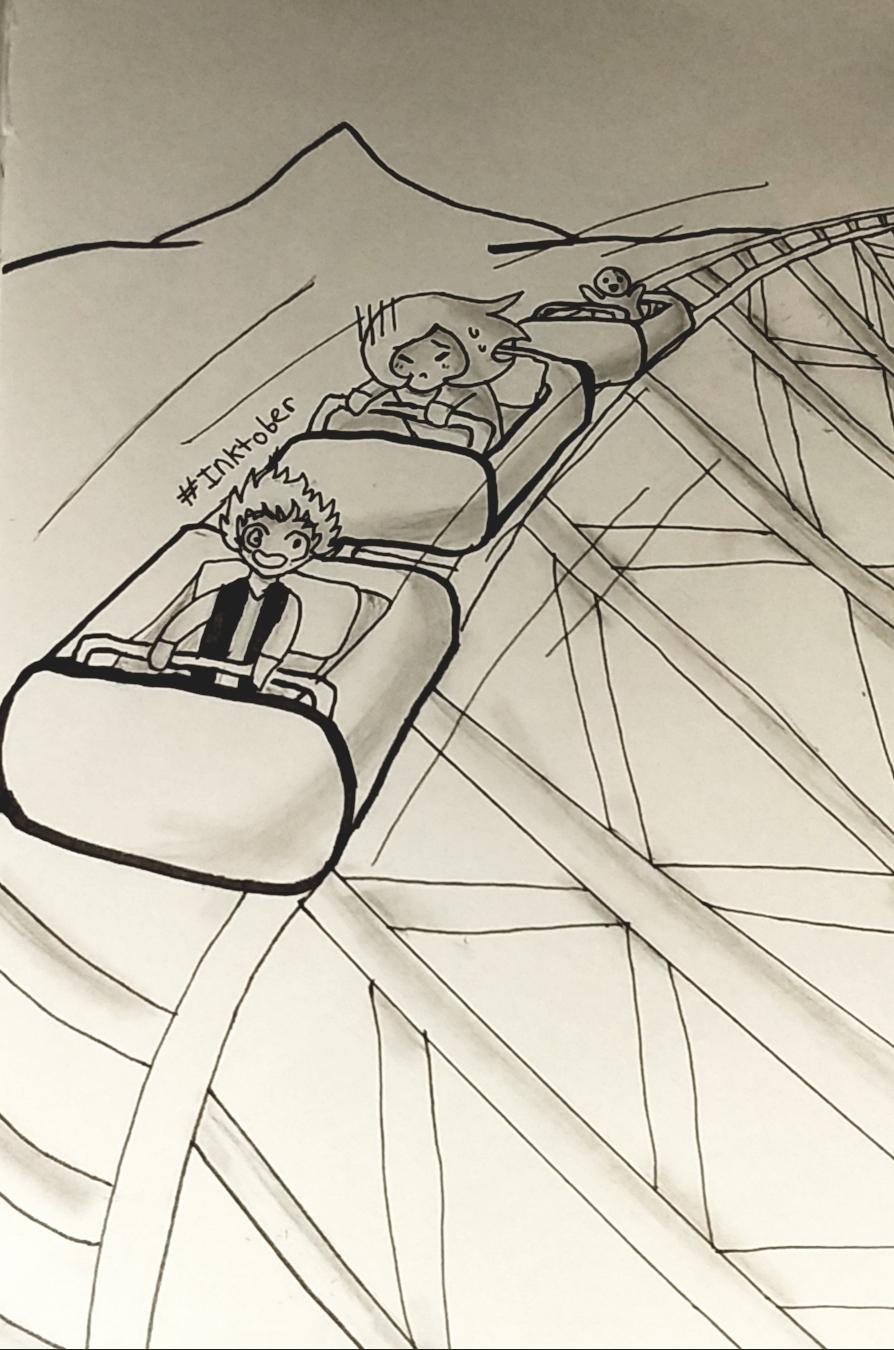 Rollercoaster - Inktober #28
