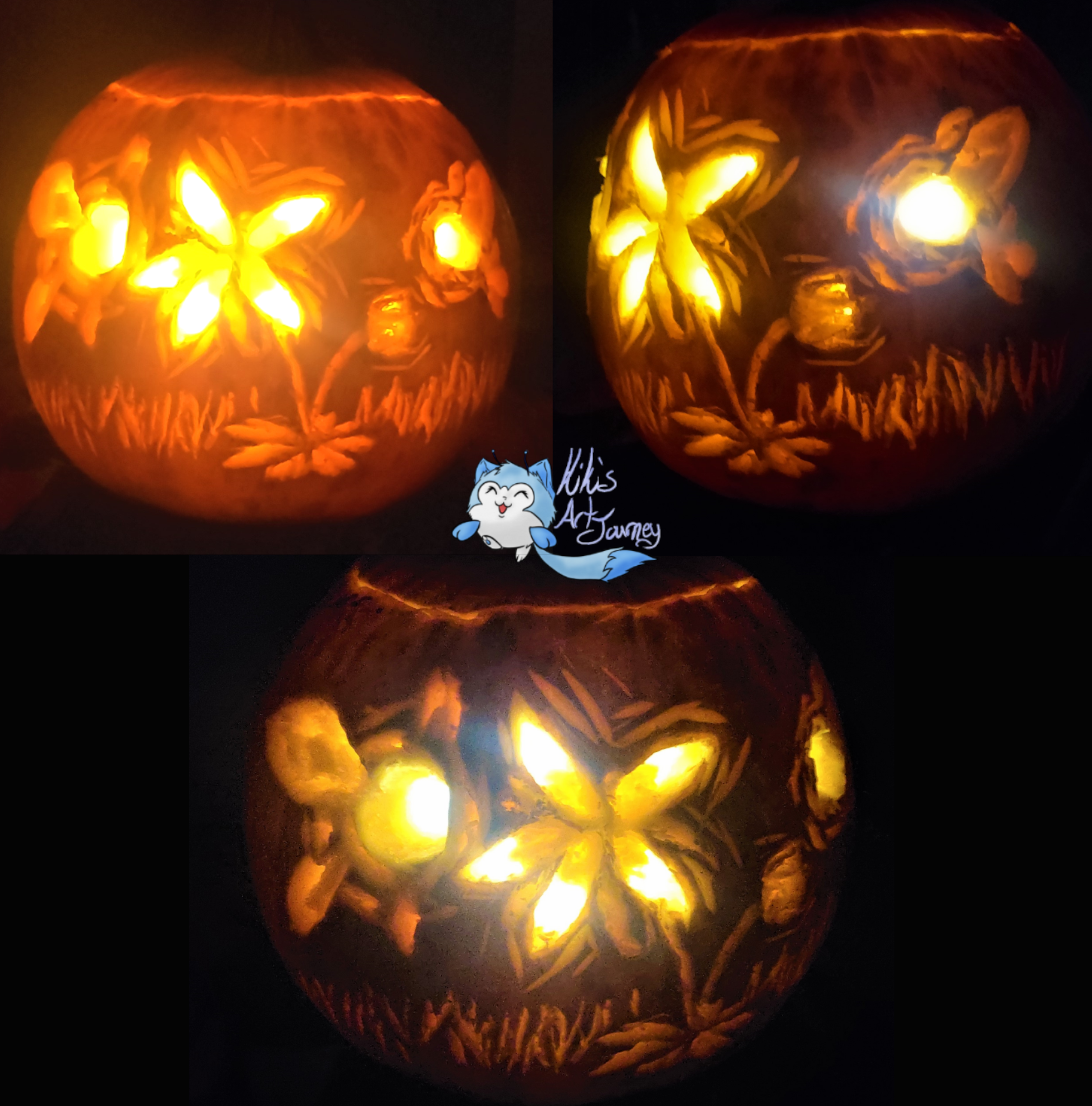 Linktober Day 31 Free for all - Pumkin Carving