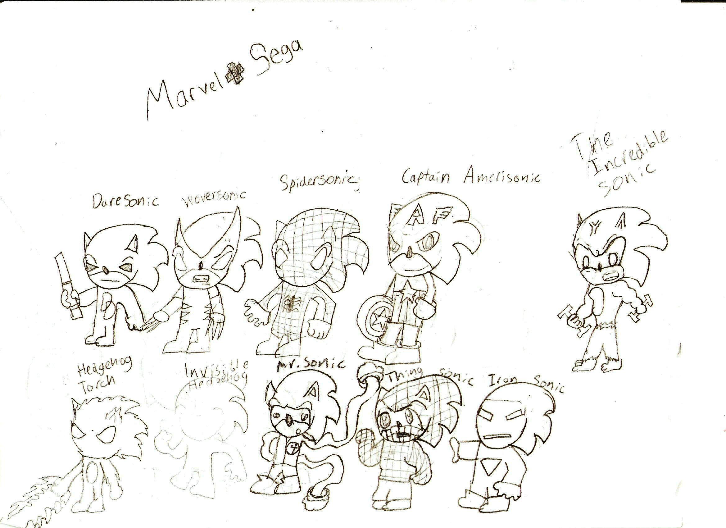 Marvel + Sega