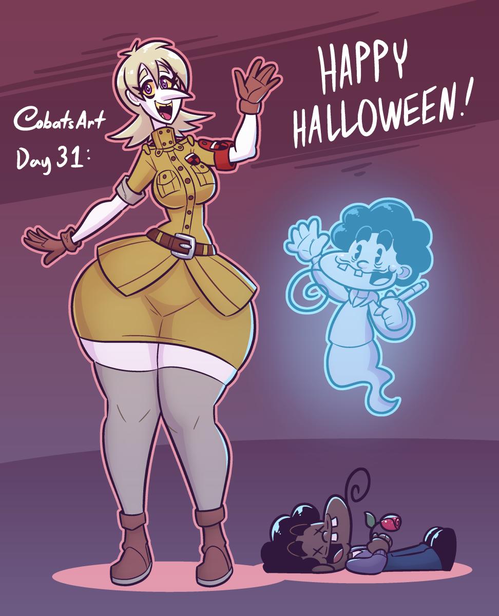 Cubesonaween day 31: Happy Halloween!