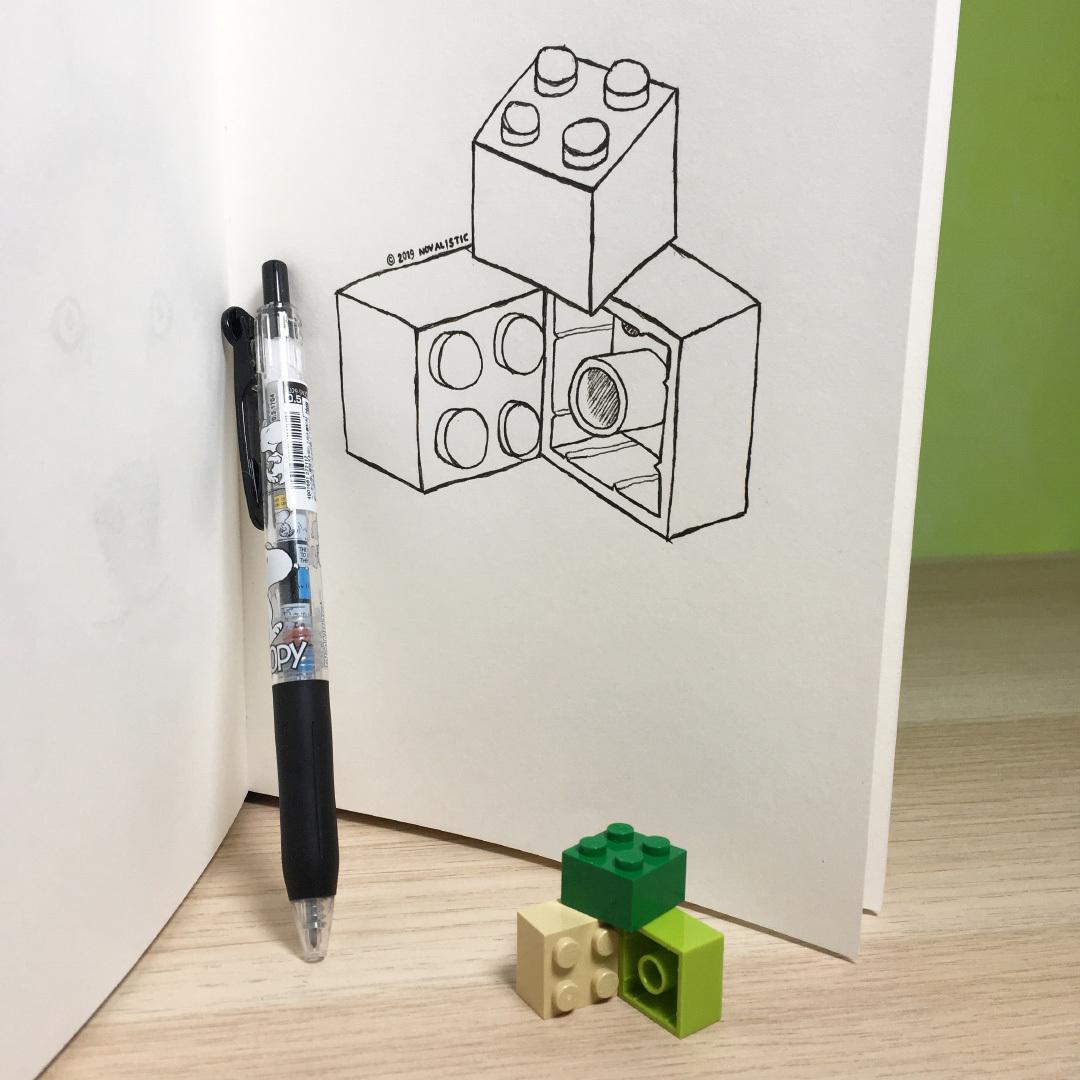 Inktober 2019, Day 6: Build (in progress)