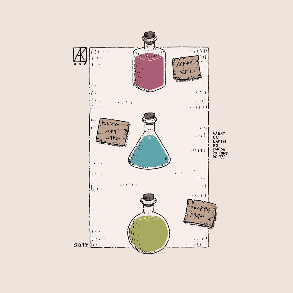 Strange Potions