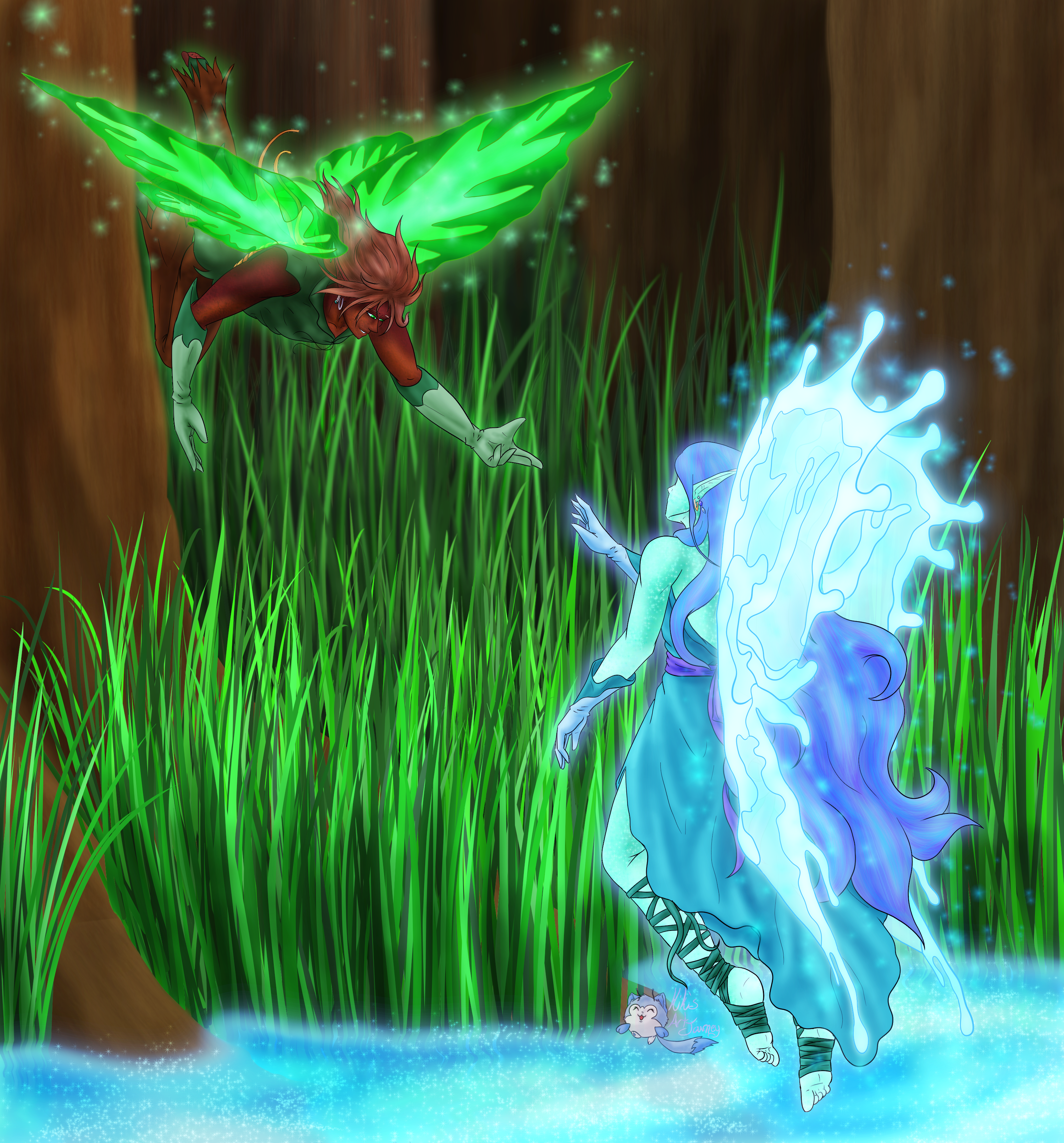 In To the Past - Remaking Fairy Art
